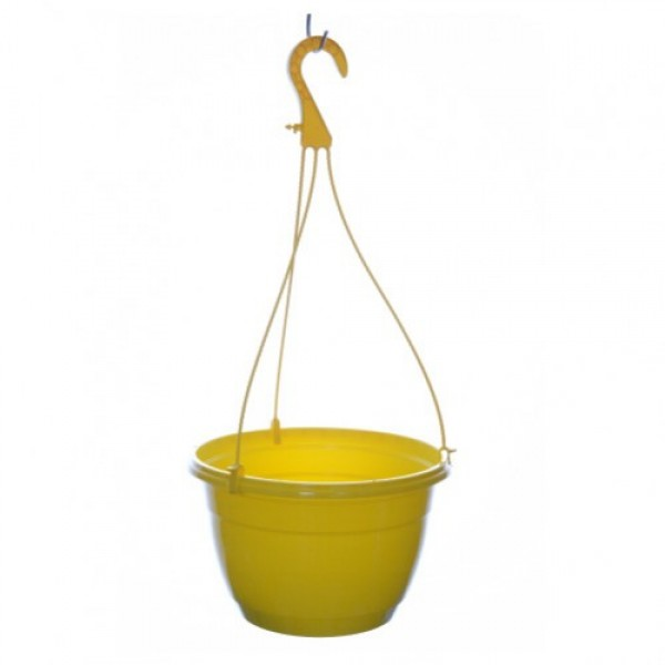 Suspended color pots - Yellow