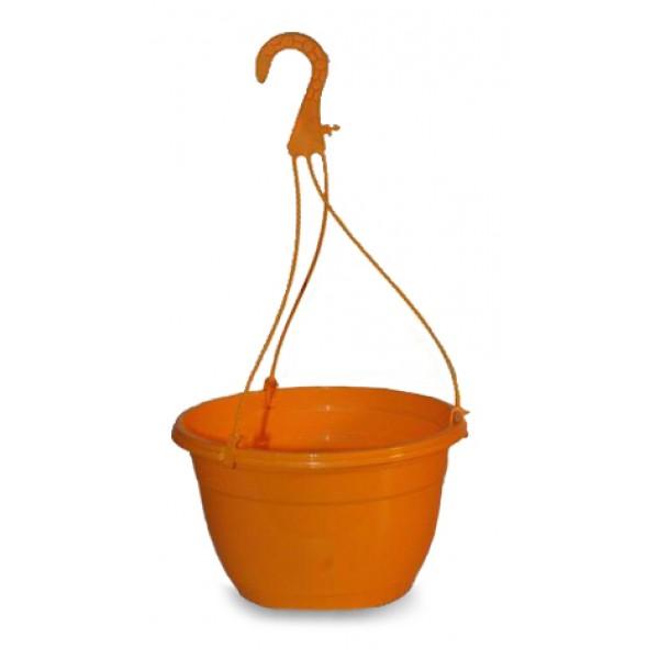 Suspended color pots - Orange