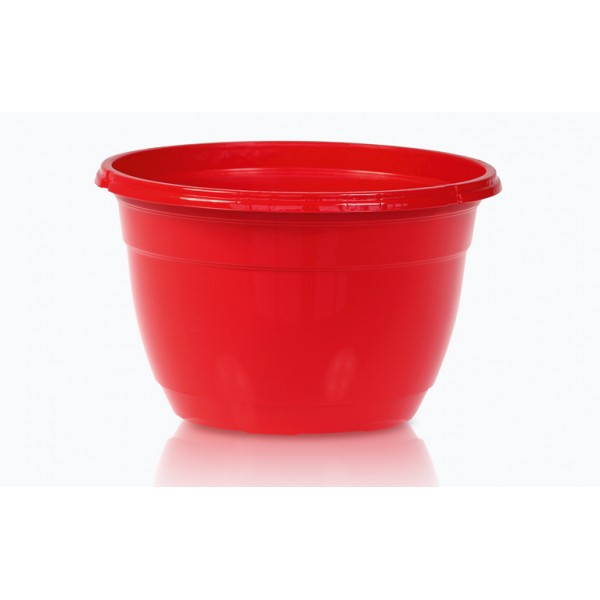 Suspended color pots - Red