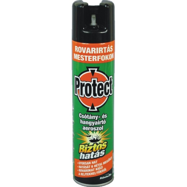 PROTECT spray against bugs and funnels