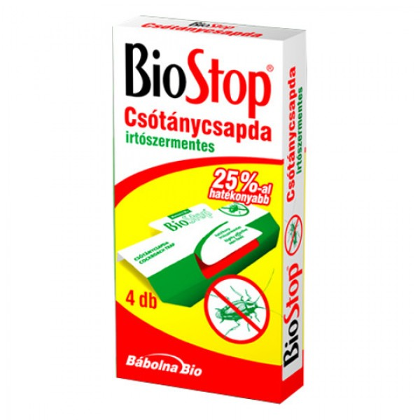 BIOSTOP Trap for monitoring bugs