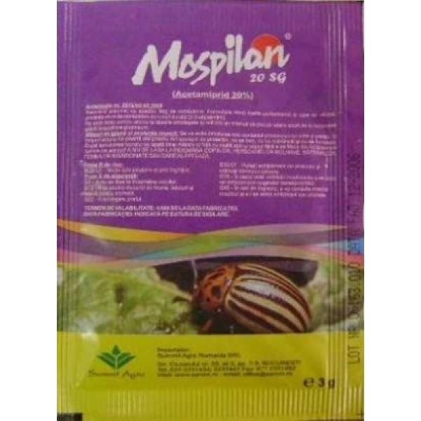 Mospilan Insecticide 20 SG(3g)