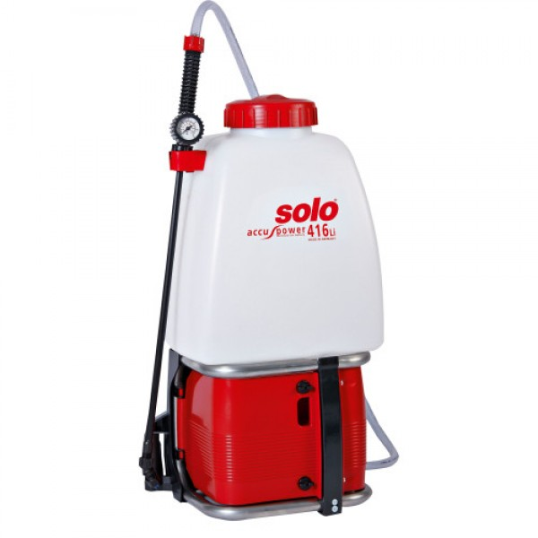 SOLO PRO 416Li Battery-operated backpack...