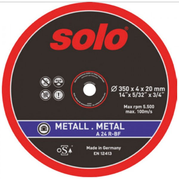 SOLO Abrasive cutting wheel METAL