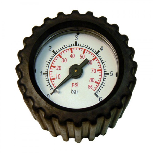 SOLO Pressure gauge with connection fitt...