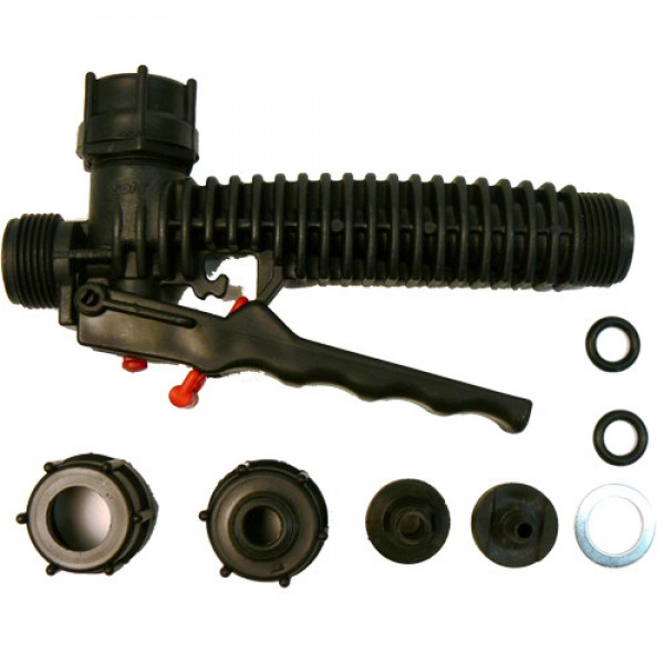 SOLO Manual valve with accessories