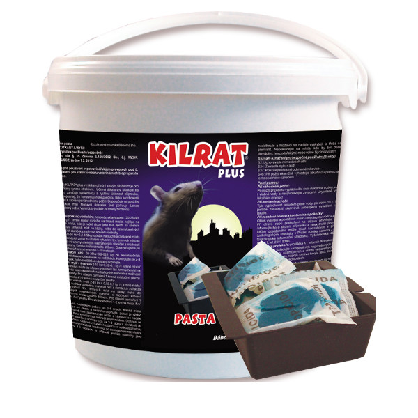 KILRAT 25 Kg rodenticide bait is fresh