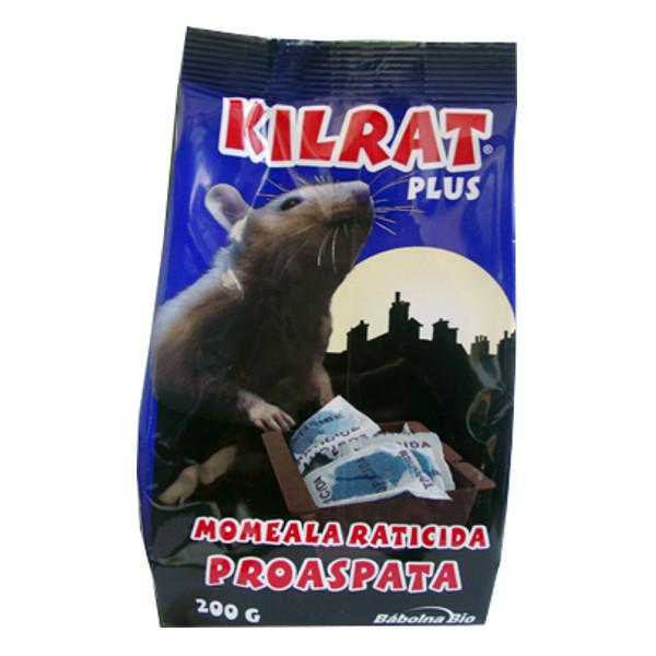 KILRAT 200 gr rodenticide bait is fresh