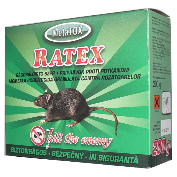 RATEX 200g Rodenticide in the form of granules