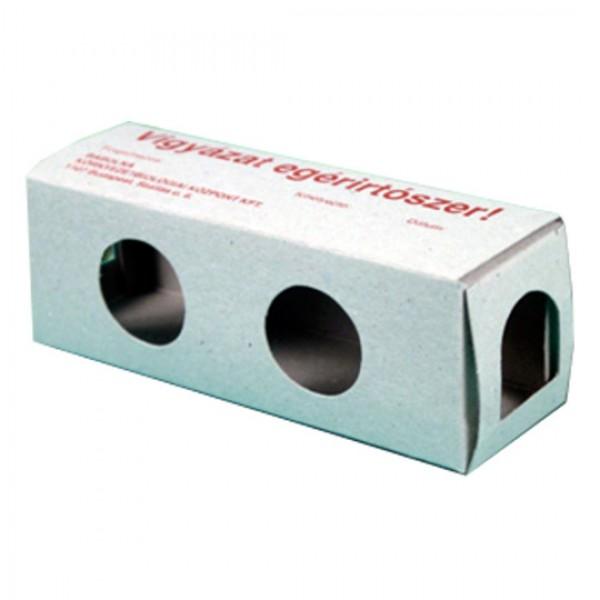 Mouse feeding carton box
