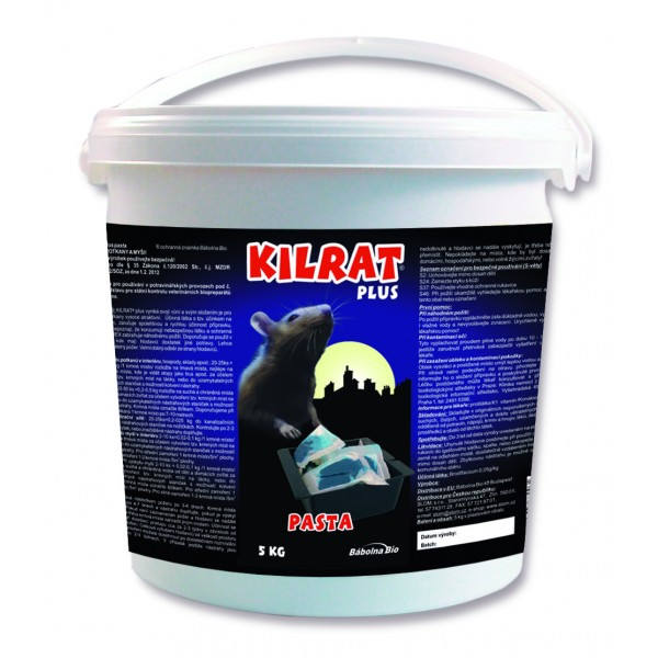 KILRAT 5 Kg rodenticide bait is fresh